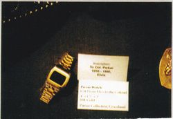 Gold Watch scanned in High Quality