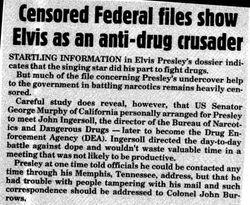 Elvis: Anti-Drug Crusader