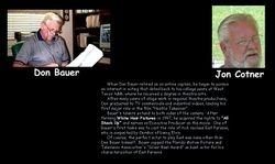 Jon Cotner is Don Bauer