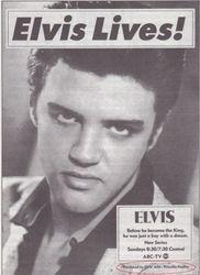 Elvis TV Guide Ad