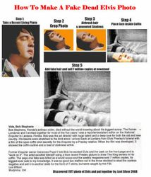 How to make a fake dead Elvis photo.