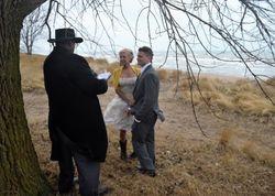 Winter Beach Ceremony
