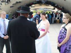 Ceremony at The Bean