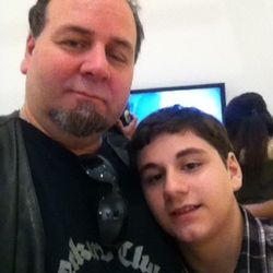 Anthony and son Dylan ( Jr. investigator)