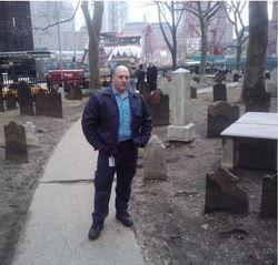 Gerard at St. Pauls Cemetery NYC