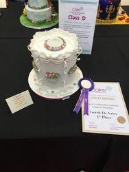 Cake International London 1th prize