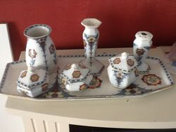 """""""Alice"""" (Or """"Alicia"""") part dressing table set"""