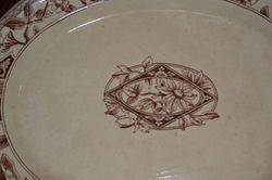 """""""Lincoln"""" centre detail on platter"""