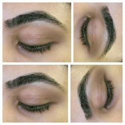 after eyebrow threading