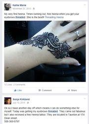 Promo henna