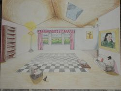 Room in One Point Perspective