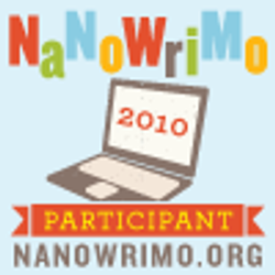 NaNo Participant Badge 1