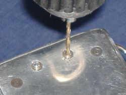 Rear screw removal