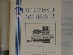 TICKET ISSUE MACHINES LIMITED