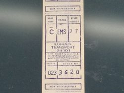 GIBSON TICKET