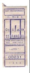 T.E.L ticket