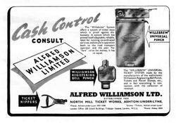 WILLIAMSON ADVERT