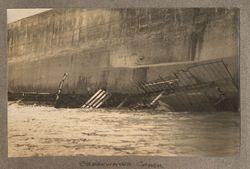 Breakwater crash
