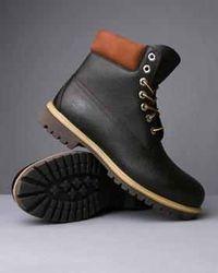 Timberland premium boots (black leather)