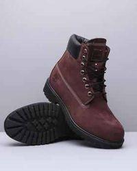 Timberland premium boots (maroon)