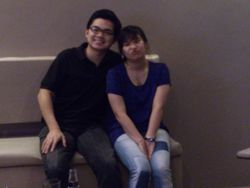 Mr and Mrs. Zamora :D