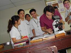 With Dr. Villa