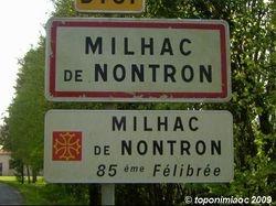 Milhac de Nontronh