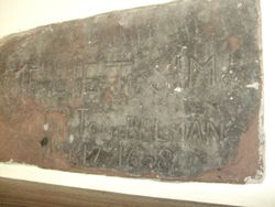 Memorial plaque Eliet Simson