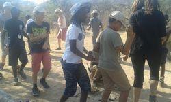 bushmen dance
