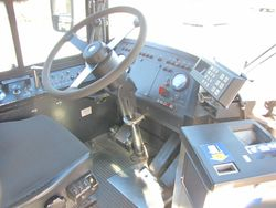 1995 New Flyer D40LF Interior