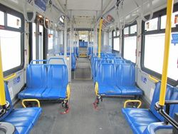 1999 New Flyer D60LF Interior