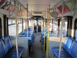 2000 New Flyer D40LF Interior
