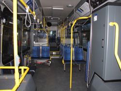 2008 Novabus LFS Interior
