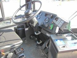 2009 New Flyer E60LFR Interior