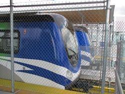 Canada Line Trains