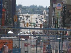 Granville Street looking toward Bridge