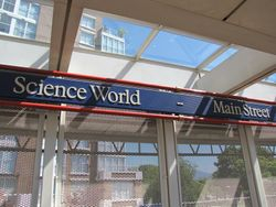 Main Street-Science World Station