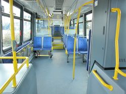 2009 Novabus LFS HEV Interior