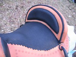 padded cantle