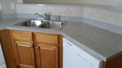Granite Countertops and Double Sink