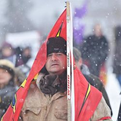 """STANDING FOR """"IDLENOMORE"""""""