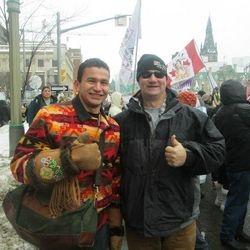 """IDLE NO MORE"" Ottawa 2013"