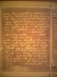 Lovina Eustaches Death 1890 30th Sept
