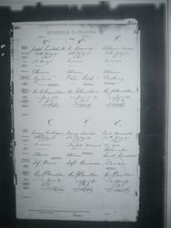 Joseph Eustaches Death 19 July 1890