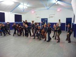 Teaching the scouts 'Kapa o Pango'