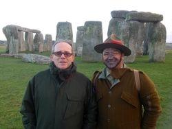 Stonehenge with Lt-Col (Rtd) Nigel Linge