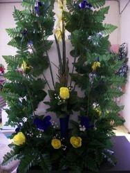 Custom Memorial Silk Floral