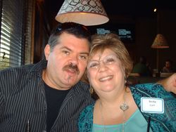 Fellow Author & husband