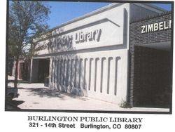 Brulington, ColoradoLibrary