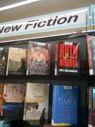 My book at Deltona, FL Library